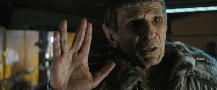 Oude Spock - Live long and prosper