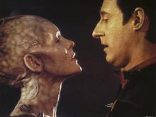 Riker en Borg Queen