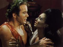Captain Kirk en Uhura