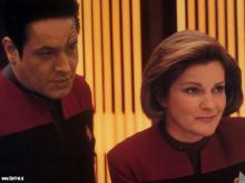 Chakotey en Captain Janeway